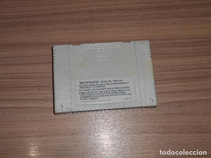 Videojuegos y Consolas: SUPER SILK WORM SWIV IV juego Original SUPER NINTENDO SNES Pal España - Foto 2 - 64887479