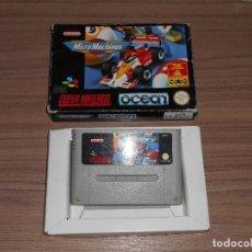 Videojuegos y Consolas: MICRO MACHINES MICROMACHINES SUPER NINTENDO SNES PAL ESPAÑA . Lote 88165047
