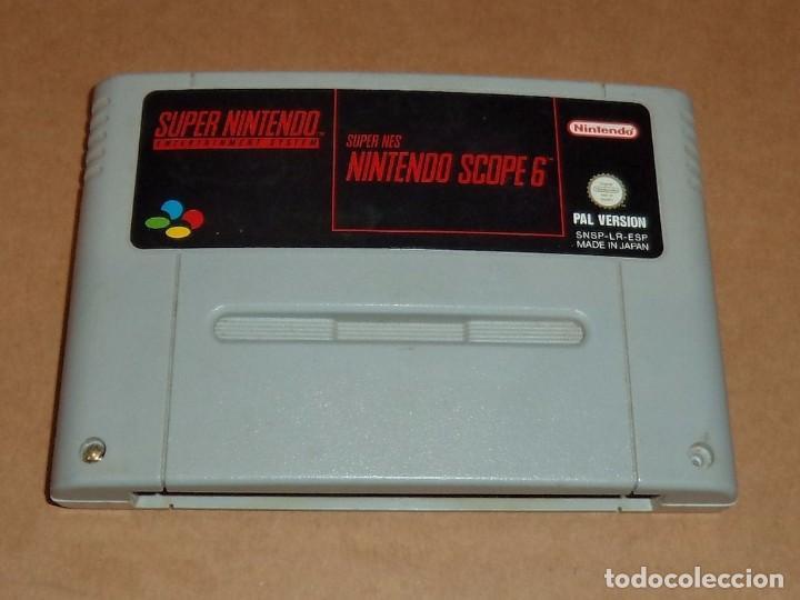 NINTENDO SCOPE 6 PARA NINTENDO SNES, PAL (Juguetes - Videojuegos y Consolas - Nintendo - SuperNintendo)