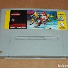 Videojuegos y Consolas: SUPER ICE HOCKEY PARA NINTENDO SNES, PAL. Lote 66125702