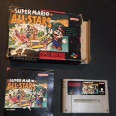 Videojuegos y Consolas: JUEGO SUPER NINTENDO SNES PAL SUPERNINTENDO SUPER MARIO ALL STARS. Lote 66157026