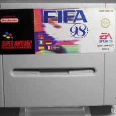 Videojuegos y Consolas: FIFA 98 ( SNES- SUPER NINTENDO -PAL). Lote 66267062