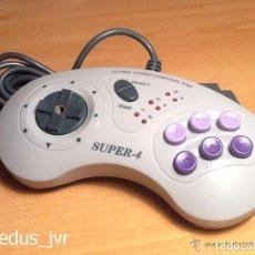 Videojuegos y Consolas: MANDO CONTROLADOR SUPER-4 TURBO CONTROL PAD PARA SUPER NINTENDO SNES JOYSTICK. Lote 66885870