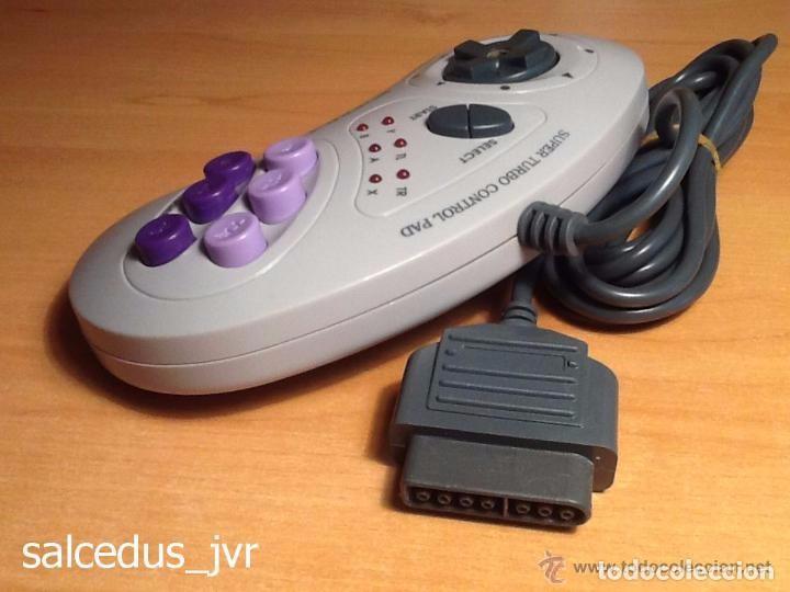 Videojuegos y Consolas: Mando Controlador Super-4 Turbo Control Pad para Super Nintendo SNES Joystick - Foto 4 - 66885870