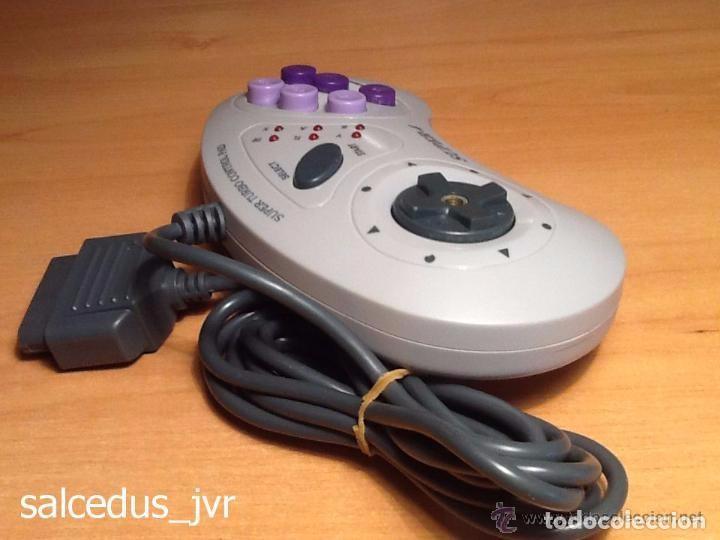 Videojuegos y Consolas: Mando Controlador Super-4 Turbo Control Pad para Super Nintendo SNES Joystick - Foto 5 - 66885870