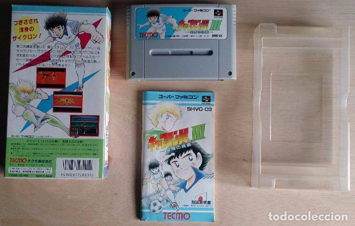 Videojuegos y Consolas: Capitan Tsubasa III 3 / Super Famicom Nintendo SNES / NTSC / TECMO 1992 (Campeones Oliver y Benji) - Foto 2 - 58997730