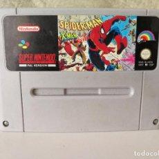 Videojuegos y Consolas: SPIDERMAN SUPER NINTENDO . Lote 71717463