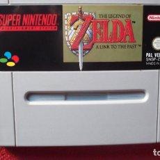 Videojuegos y Consolas: JUEGO ORIGINAL SUPER NINTENDO THE LEGEND OF ZELDA A LINK TO THE PAST VERSION ESPAÑOLA 1992. Lote 71806539
