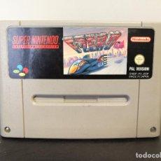 Videojuegos y Consolas: JUEGO SUPER NINTENDO F ZERO. Lote 72506843