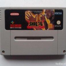 Videojuegos y Consolas: JUEGO SUPER NINTENDO SNES SHAQ FU SOLO CARTUCHO PAL ESP R5531. Lote 75684279