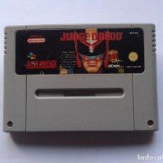 Videojuegos y Consolas: JUEGO SUPER NINTENDO SNES JUDGE DREDD SOLO CARTUCHO PAL EUR R5541. Lote 75684967