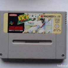 Videojuegos y Consolas: JUEGO SUPER NINTENDO SNES KICK OFF SOLO CARTUCHO PAL ESP R5543. Lote 76006839