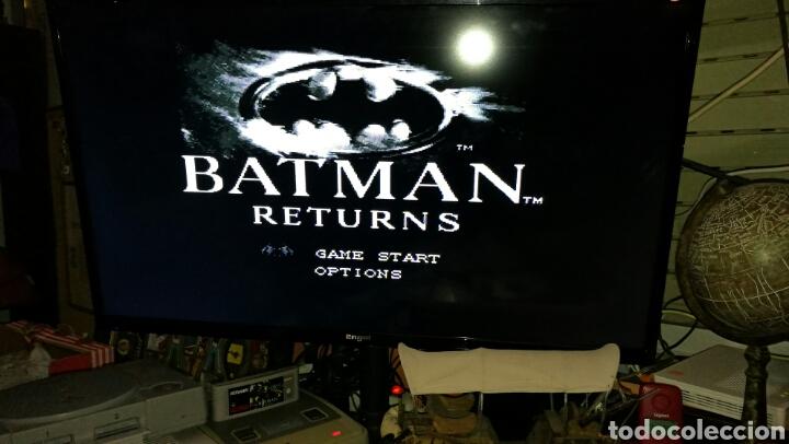 Videojuegos y Consolas: Batman returns para super Nintendo snes con caja . Original konami - Foto 2 - 76090850