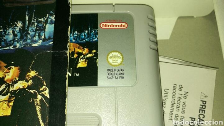 Videojuegos y Consolas: Batman returns para super Nintendo snes con caja . Original konami - Foto 6 - 76090850