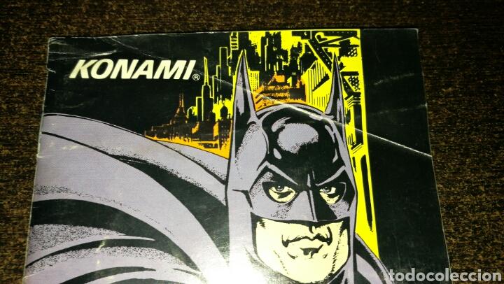 Videojuegos y Consolas: Batman returns para super Nintendo snes con caja . Original konami - Foto 8 - 76090850