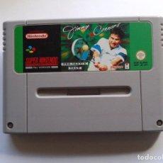 Jeux Vidéo et Consoles: JUEGO SUPER NINTENDO SNES JIMMY CONNORS PRO TENNIS TOUR PAL SOLO CARTUCHO R5558. Lote 76950173