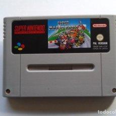 Videojuegos y Consolas: JUEGO SUPER NINTENDO SNES SUPER MARIO KART PAL ESPAÑA SOLO CARTUCHO R5564. Lote 76950377
