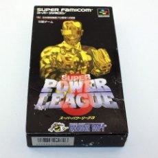 Videojuegos y Consolas: SUPER POWER LEAGUE 3 - SNES/SUPERFAMICON - VERSIÓN JAPONESA - EN SU CAJA, INSTRUCCIONES, BUEN ESTADO. Lote 78936493
