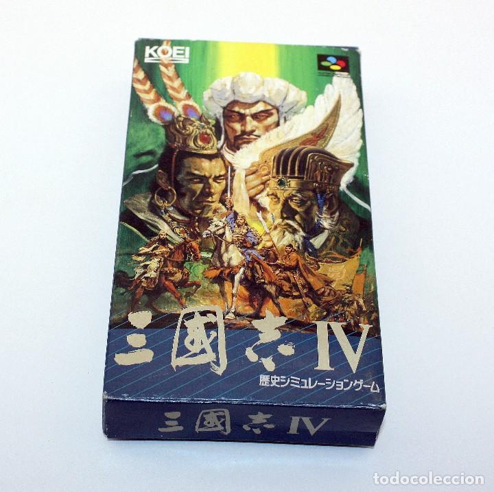 SANGOKUSHI IV - TOEI - SNES/SUPERFAMICOM - EN CAJA E INSTRUCCIONES - MUY BUEN ESTADO (Juguetes - Videojuegos y Consolas - Nintendo - SuperNintendo)