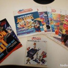 Videojuegos y Consolas: PACK REVISTA CLUB NINTENDO - 12 REVISTAS Y GUÍA TRUCOS - DESDE 1992 A 1995. Lote 79144529