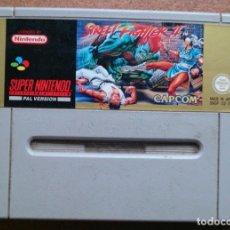 Videojuegos y Consolas: JUEGO SUPER NINTENDO STREET FIGHTER II . Lote 79788145