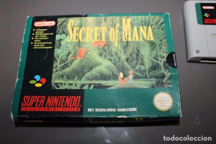 Videojuegos y Consolas: Secret of Mana con Caja para Super Nintendo SNES Funcionando PAL - Foto 2 - 81146832