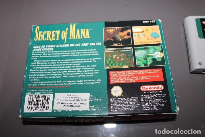 Videojuegos y Consolas: Secret of Mana con Caja para Super Nintendo SNES Funcionando PAL - Foto 3 - 81146832