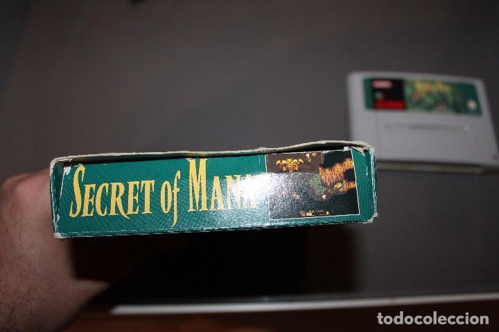 Videojuegos y Consolas: Secret of Mana con Caja para Super Nintendo SNES Funcionando PAL - Foto 4 - 81146832