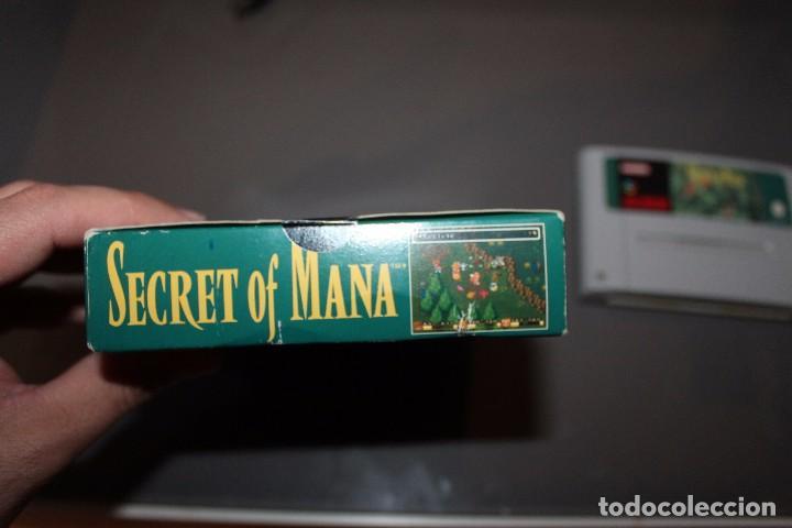 Videojuegos y Consolas: Secret of Mana con Caja para Super Nintendo SNES Funcionando PAL - Foto 5 - 81146832