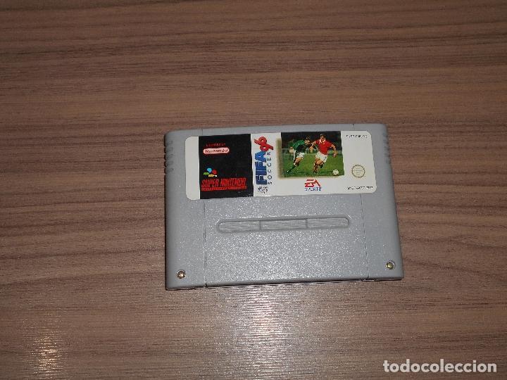 FIFA SOCCER 96 JUEGO ORIGINAL SUPER NINTENDO SNES PAL ESPAÑA (Juguetes - Videojuegos y Consolas - Nintendo - SuperNintendo)
