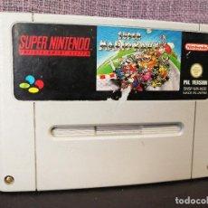 Videojuegos y Consolas: JUEGO MARIO KART SUPER NINTENDO . Lote 82996520