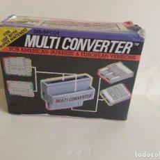 Videojuegos y Consolas: CAJA MULTICONVERTER SUPERNINTENDO SUPER NINTENDO. Lote 83430268