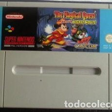 Videojuegos y Consolas: MICKEY MOUSE THE MAGICAL QUEST PAL SUPERNINTENDO SUPER NINTENDO. Lote 83477788