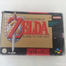 Videojuegos y Consolas: THE LEGEND OF ZELDA: A LINK TO THE PAST PAL SUPERNINTENDO SUPER NINTENDO. Lote 83478556