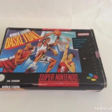 Videojuegos y Consolas: WORLD LEAGUE BASKETBALL PAL SUPERNINTENDO SUPER NINTENDO. Lote 83479048