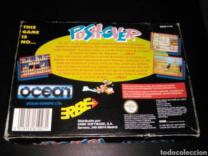 Videojuegos y Consolas: Push over super nintendo - Foto 3 - 83617240