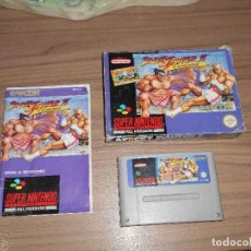 STREET FIGHTER II TURBO juego Original SUPER NINTENDO SNES Pal España