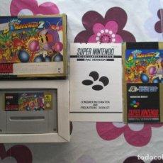 Videojuegos y Consolas: SUPER BOMBERMAN 2 SUPER NINTENDO SNES. Lote 85399128
