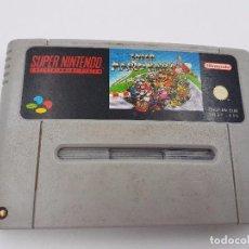 Videojuegos y Consolas: JUEGO SUPER MARIO KART PAL SUPER NINTENDO SNES.ENVIO COMBINADO. Lote 86877324