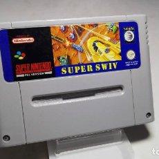 Videojuegos y Consolas: SUPER SWIV ( SNES- SUPER NINTENDO -PAL) J22. Lote 88880472