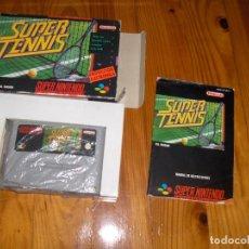 Videojuegos y Consolas: SUPER TENIS SNES COMPLETO. Lote 88936228