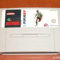 Videojuegos y Consolas: CARTUCHO DE JUEGO SUPER NINTENDO FIFA 97.. Lote 89097964