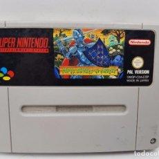 Videojuegos y Consolas: JUEGO SUPER GHOULS´N GHOSTS PAL B ESPAÑA ESP SUPER NINTENDO SNES.COMBINO ENVÍO. Lote 89324136