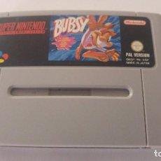 Videojuegos y Consolas: BUBSY SUPER NINTENDO SNES NES PAL-ESPAÑA. Lote 90547455