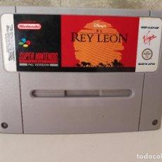 Videojuegos y Consolas: EL REY LEON SUPER NINTENDO . Lote 90760540