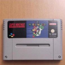 Videojuegos y Consolas: SUPER MARIO WORLD SUPER NINTENDO SNES . Lote 91459360