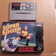 Videojuegos y Consolas: SUPER SOCCER SUPER NINTENDO SNES. Lote 91459605