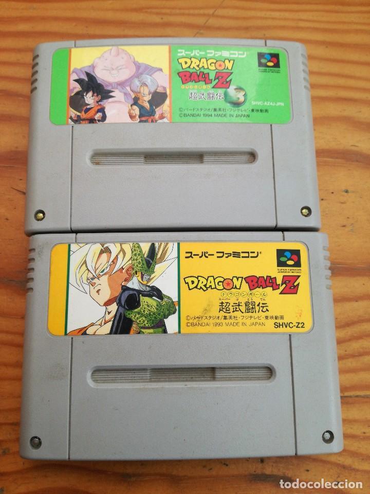 LOTAZO DE DOS JUEGAZOS SUPER FAMICOM, JAPONESES Y UN ADAPTADOR. (Juguetes - Videojuegos y Consolas - Nintendo - SuperNintendo)