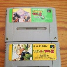 Videojuegos y Consolas: LOTAZO DE DOS JUEGAZOS SUPER FAMICOM, JAPONESES Y UN ADAPTADOR.. Lote 91543230
