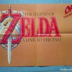 Videojuegos y Consolas: POSTER THE LEGEND OF ZELDA LINK TO THE PAST , PRINCE OF PERSIA REVISTA OK CONSOLAS. Lote 92033515